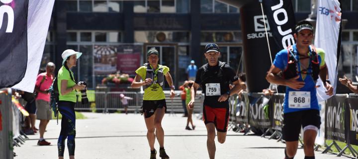 Luchon Aneto Trail 2016: Quatrième étape du Salomon Over the Mountain Running Challenge : Marie-Noëlle Bourgeois, Julien Courbet et Quentin Raissac grappillent de précieux points.