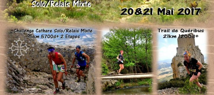L'Aude Trails Cathares : Ce sera les 20-21 mai 2017 !