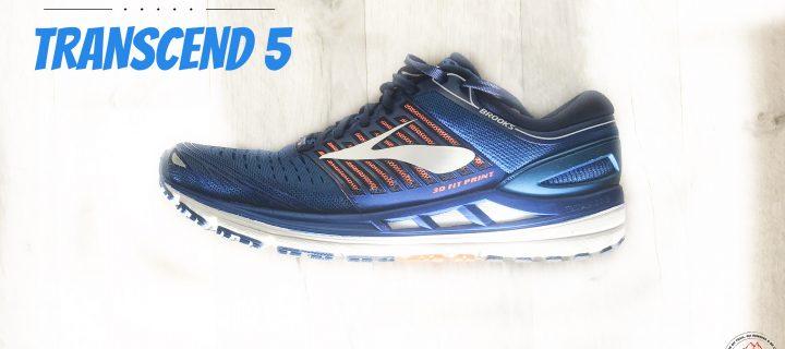 Brooks Transcend 5 : La chaussure la plus polyvalente que j'ai testée !
