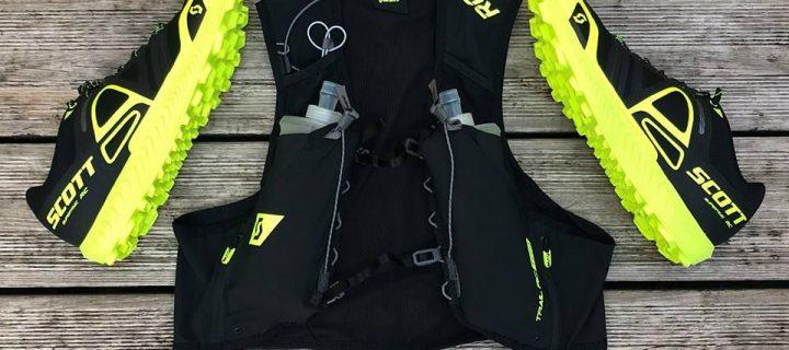 Rejoignez la Team Black & Yellow de SCOTT avec le Sac Trail RC TR4′ et les chaussures Supertrac RC !!!