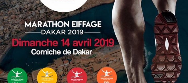 Le Marathon Eiffage de Dakar revient pour une seconde édition le 14 avril 2019