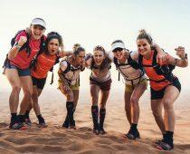 Coast to Coast :  7 Femmes traversent le Désert en courant de Dubaï à Oman