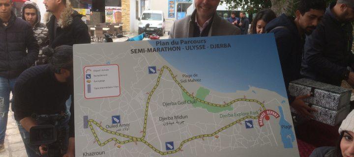 Djerba «La Douce» s'apprête à célébrer ce Dimanche 10 Mars 2019 son premier semi-marathon