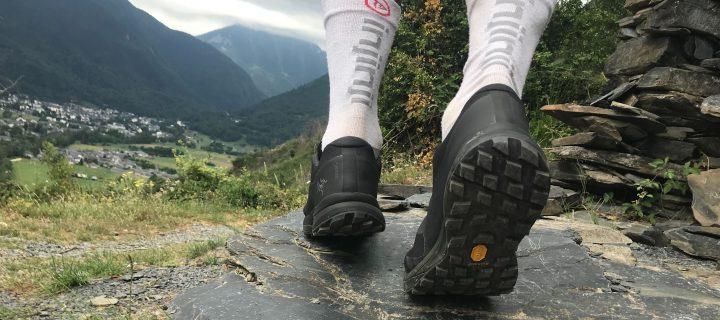 Arc'teryx Norvan LD GTX : Du Vibram mégagrip et du Goretex pour une chaussure tournée vers le long