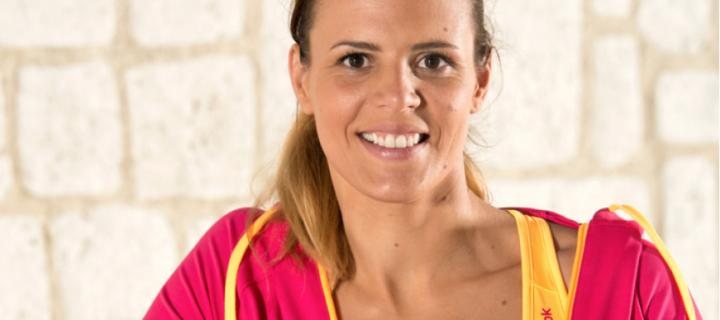 Laure Manaudou au départ du Half Marathon des Sables édition Pérou