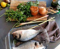 Recette : Dorade à la sauce curry par Magalie Tatessian