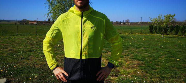 ASICS Packable Jacket : un coupe-vent ultra-léger pour toutes les saisons