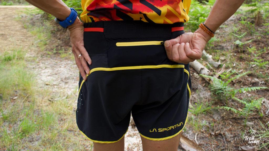 La Sportiva Short Fermeture Zippée