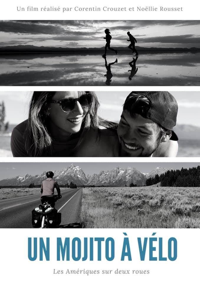 Amérique à vélo : Affiche du film Un Mojito à Vélo
