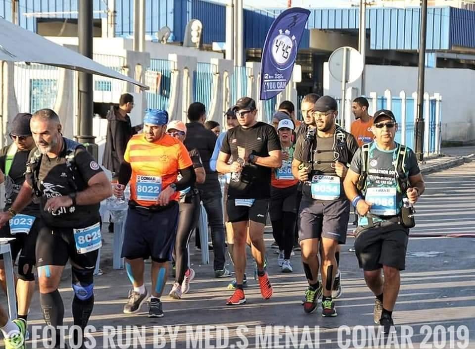 Meneurs d'allure : Semi Marathon de Djerba