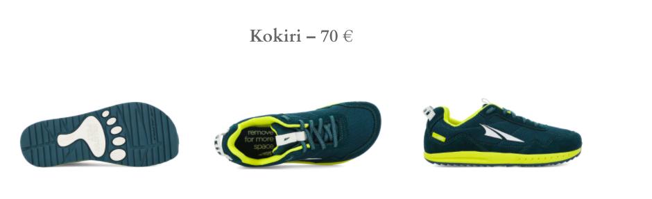 Altra Running pour enfants : Kokiri