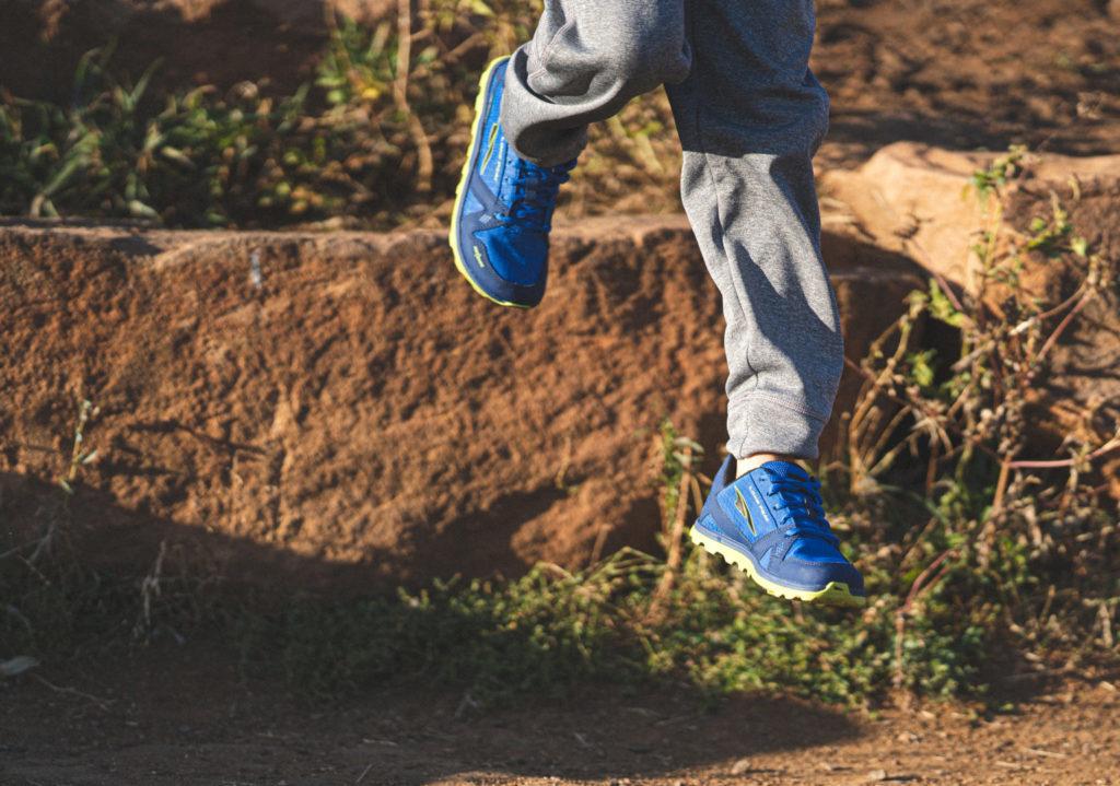 Altra Running pour enfants : modèle garçon