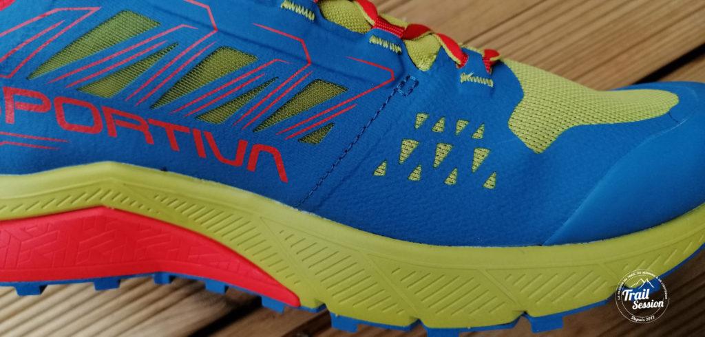 Jackal La Sportiva : zoom sur mesh chaussure