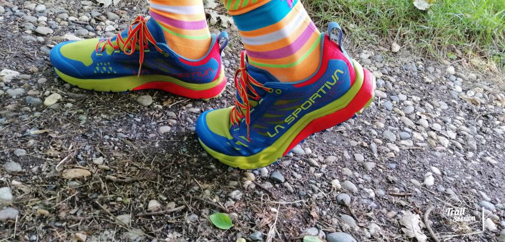 Jackal La Sportiva : chaussure en dynamique
