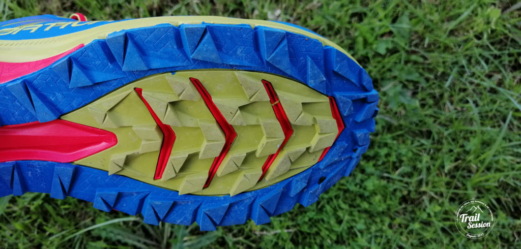 Jackal La Sportiva : usure chaussure