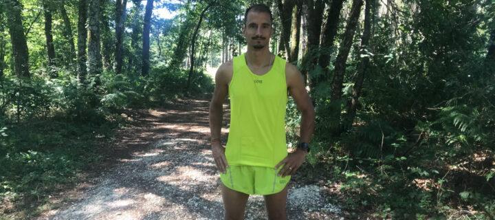 Gore Wear Running Essentials : review short et débardeur