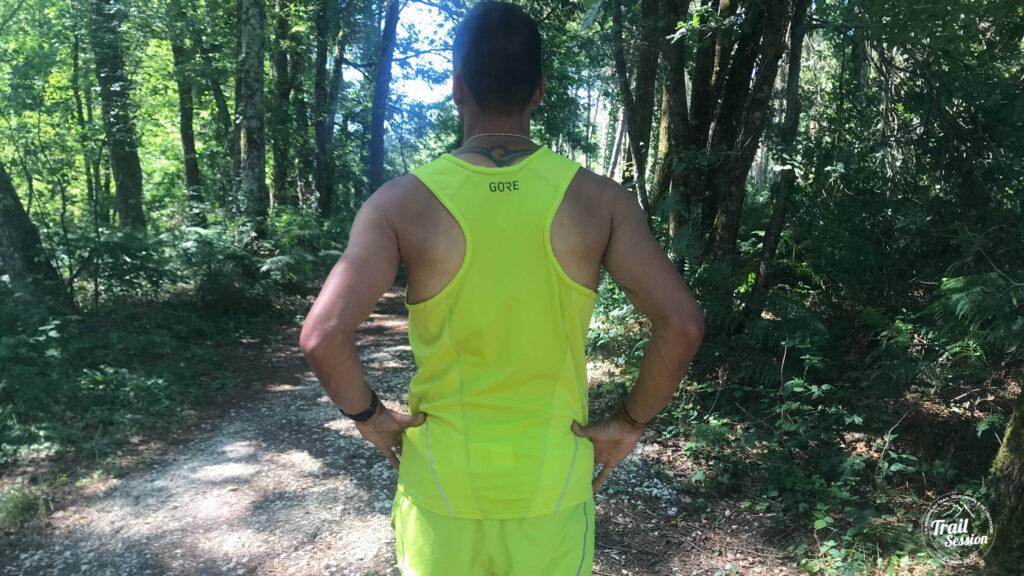 Gore Wear Running Essentials : short et débardeur de dos