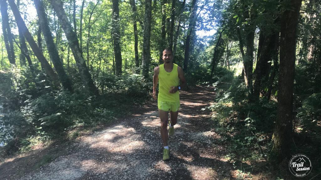 Gore Wear Running Essentials : notre testeur Loïc en action