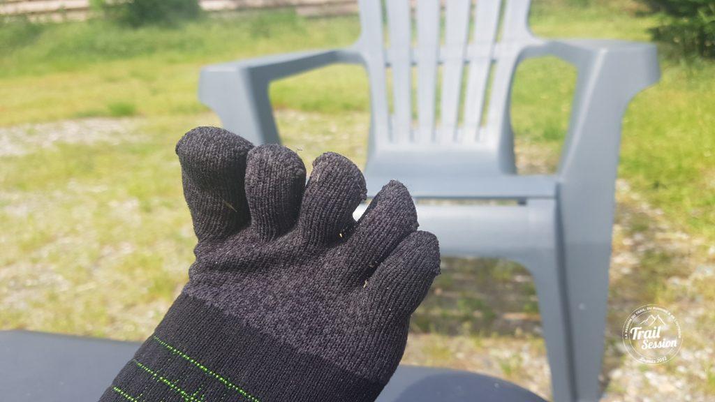 KDplus et chaussettes 5 doigts : 5 doigts