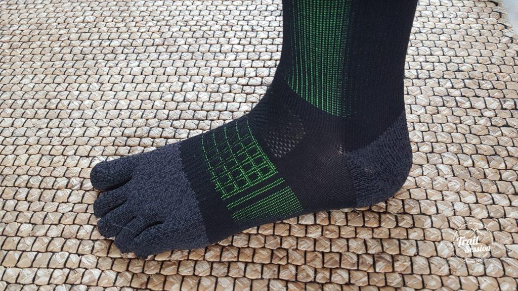 KDplus et chaussettes 5 doigts : présentation chaussettes 5 doigts