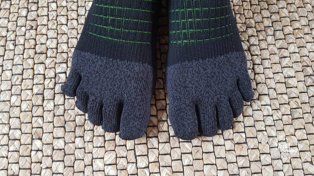 KDplus et chaussettes 5 doigts : anti frictions