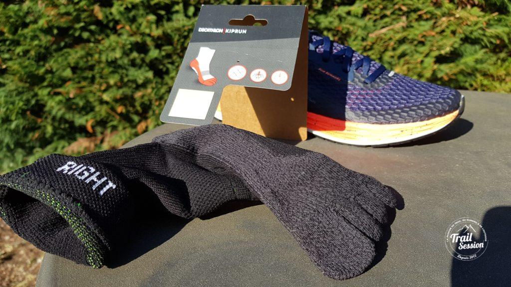 KDplus et chaussettes 5 doigts