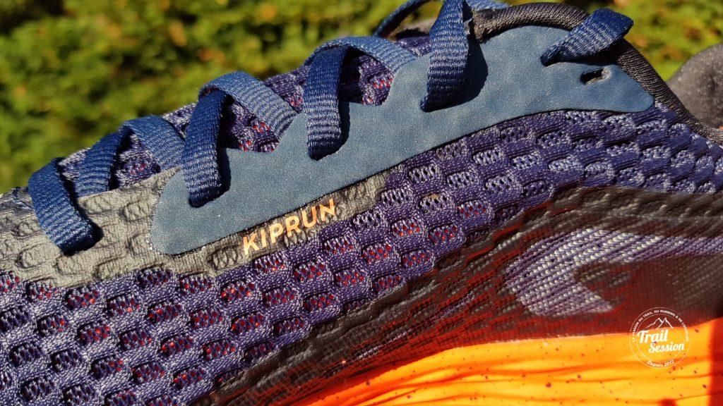 KDplus et chaussettes 5 doigts : KDplus un laçage et un mesh intéressants