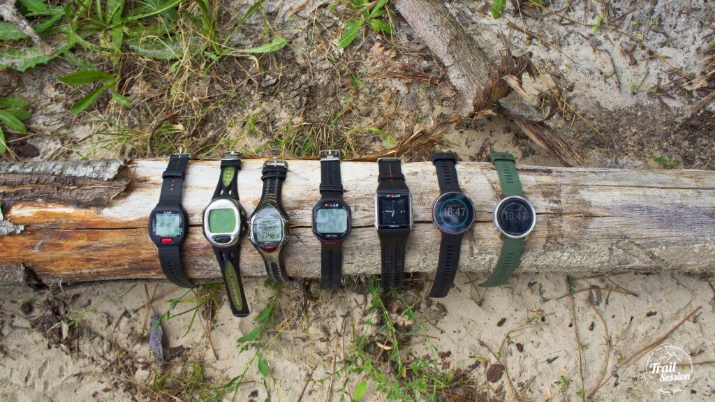 Polar Grit X : photos de toutes mes montres Polar