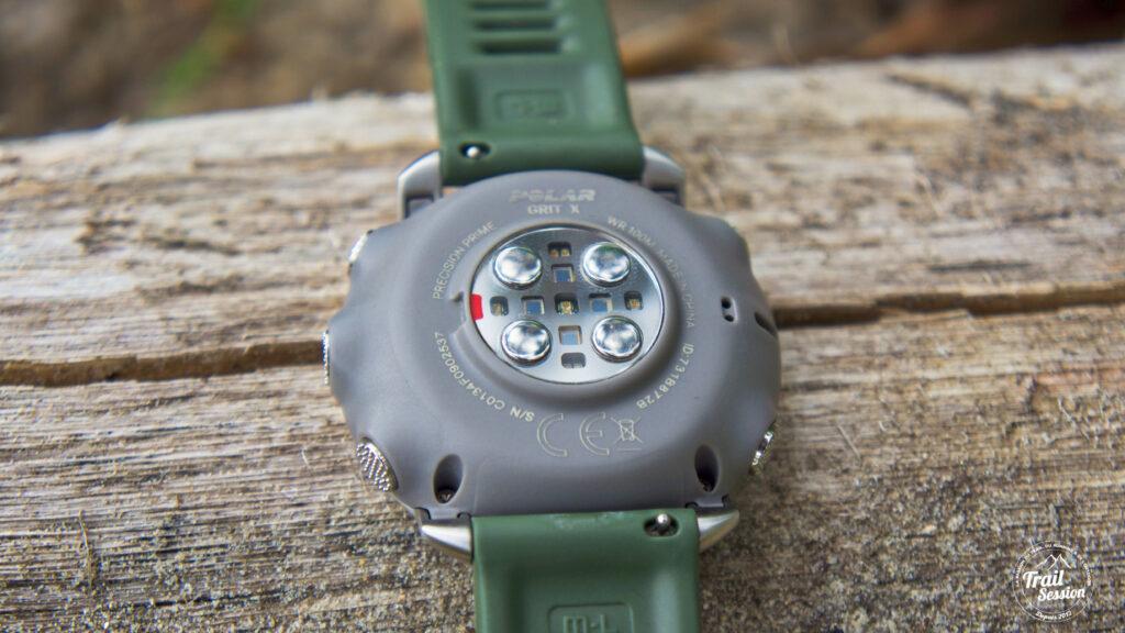Polar Grit X : Attache rapide du bracelet