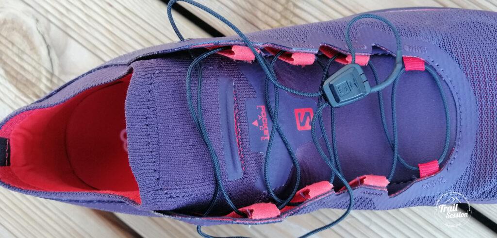 photo chaussures SALOMON S-LAB ULTRA 3 système Quicklace