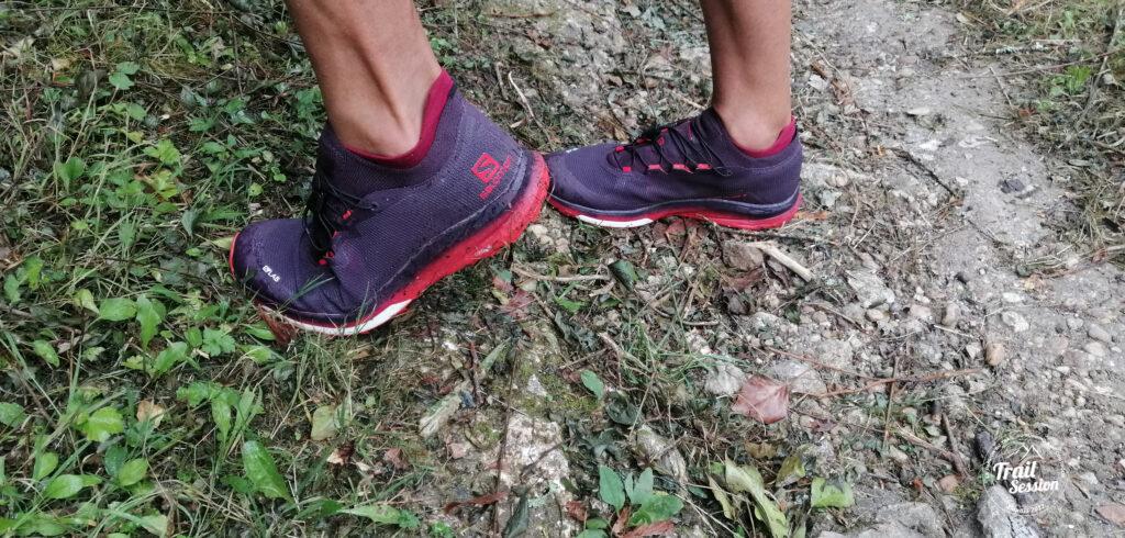 photo chaussures SALOMON S-LAB ULTRA 3 grip semelle
