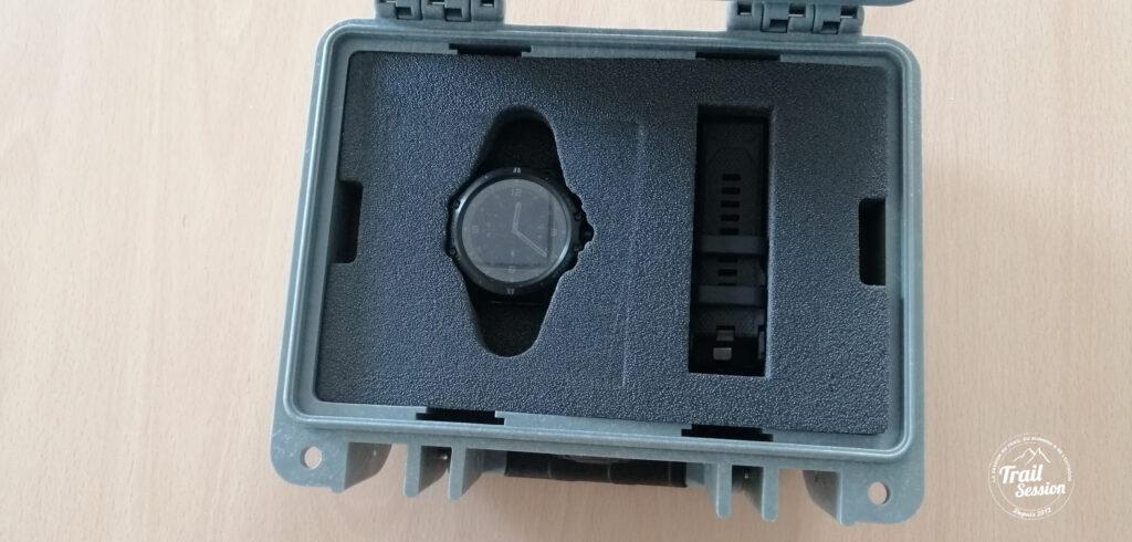 Coros Vertix : boitier montre