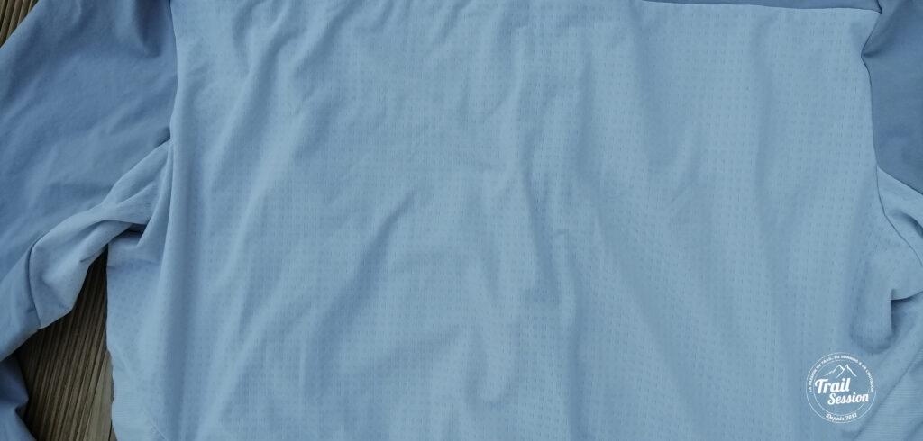 zoom tissu veste FH 900 HYBRIDE