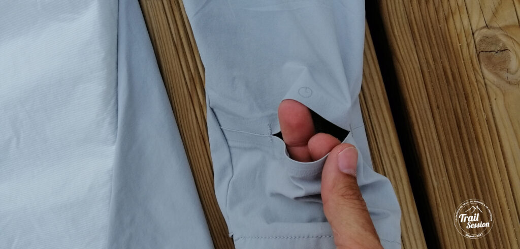 ouverture manche veste FH 900 HYBRIDE