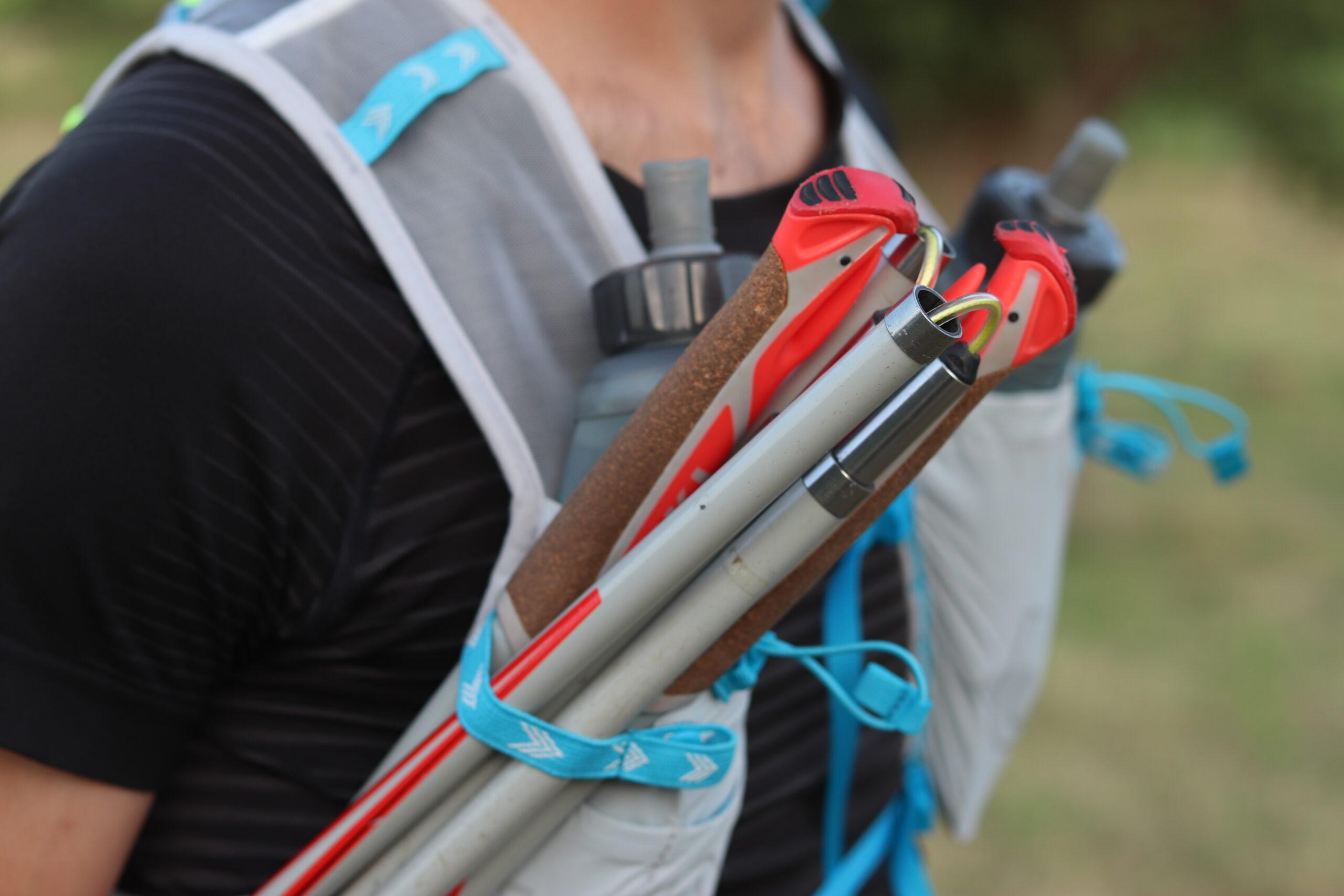 Race Vest 5.0 : rangement bâtons
