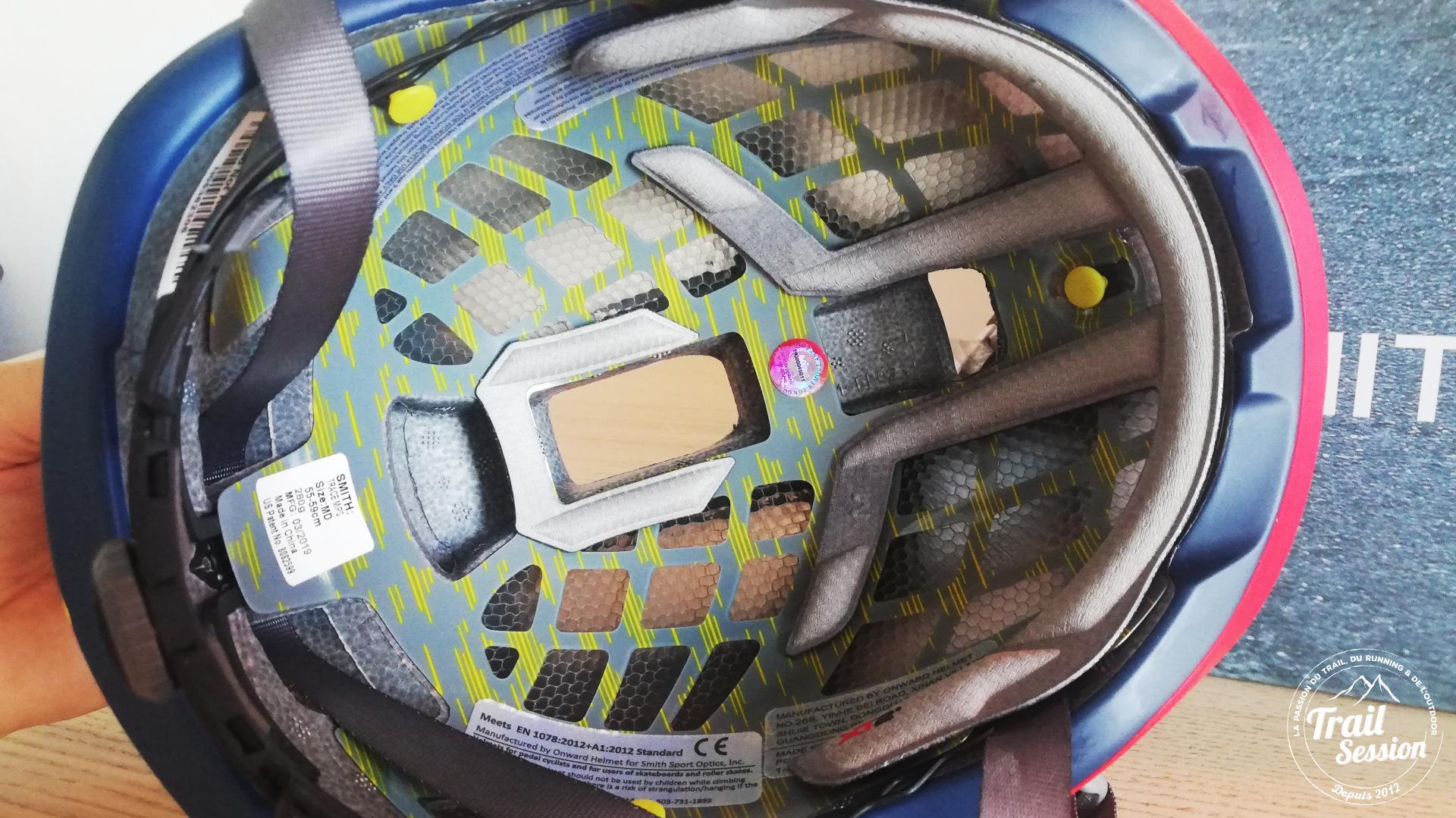 casque Trace : sécurité