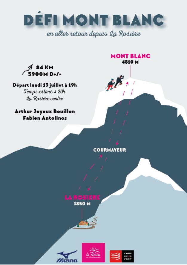 Flyer Défit Mont-Blanc 2020