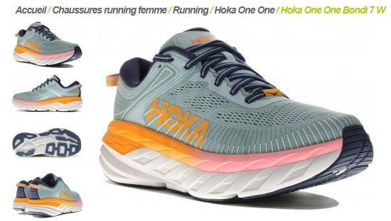 Hoka Bondi 7 chez i-Run.fr