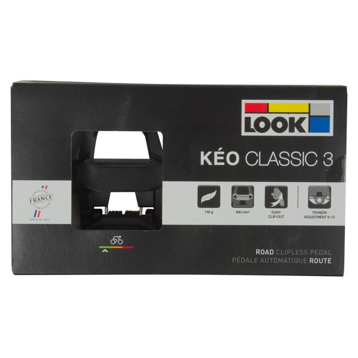 Packaging Look Keo Classic 3 chez Cycletyres