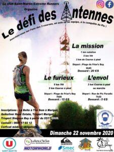 SXtreme runners : affiche Le défi des Antennes