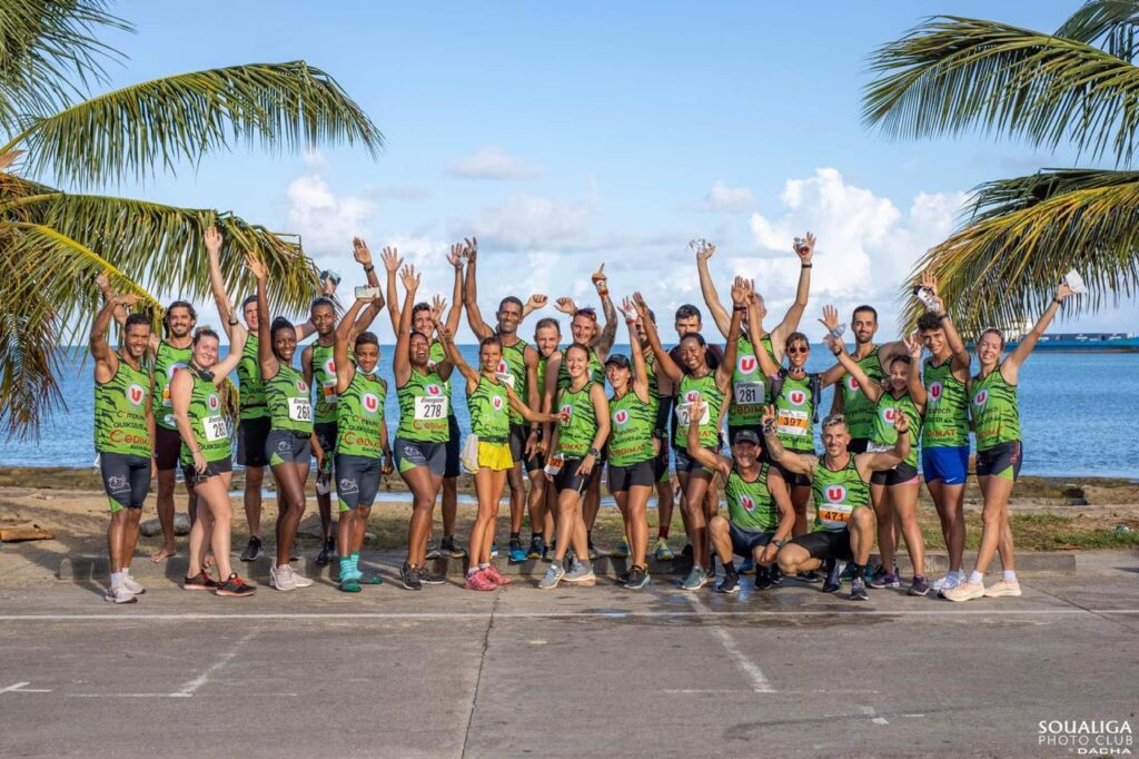 SXtreme runners : photo de groupe