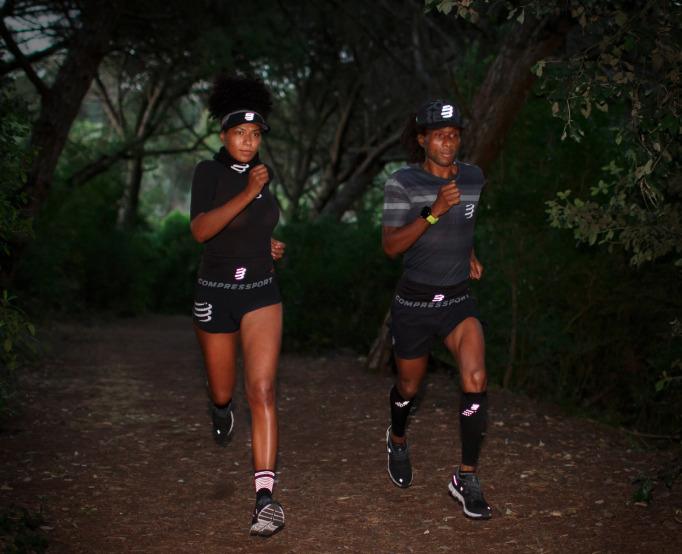 visière ultra light et pro racing socks