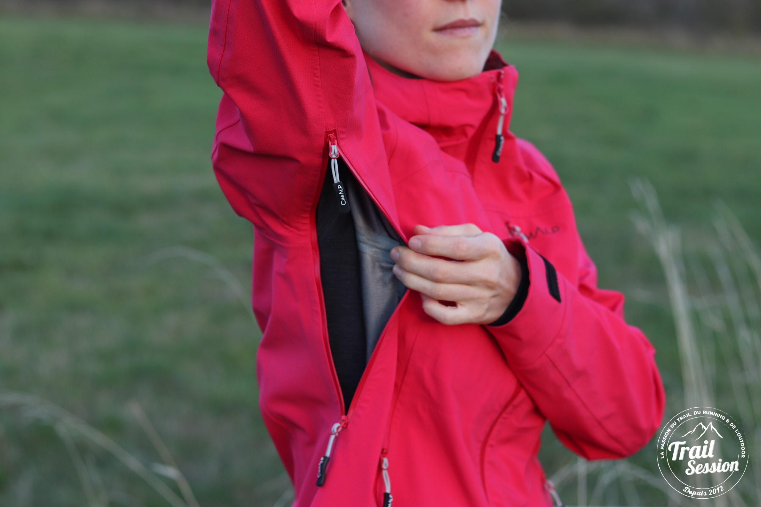 aération veste peak 4F