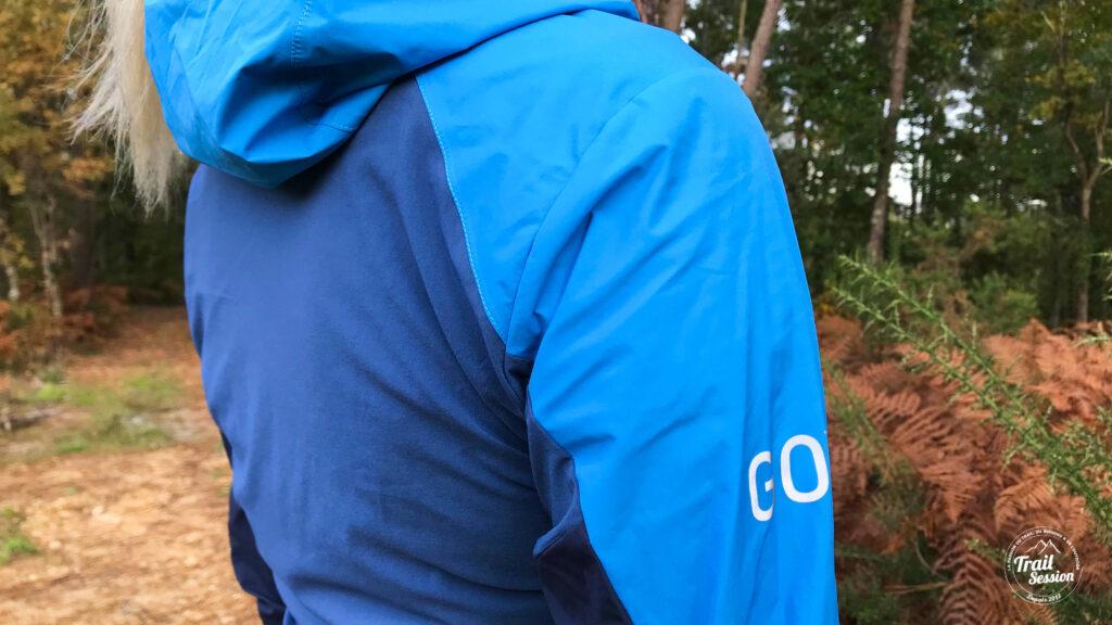Veste Gore Wear R7 Partial - empiècements strech