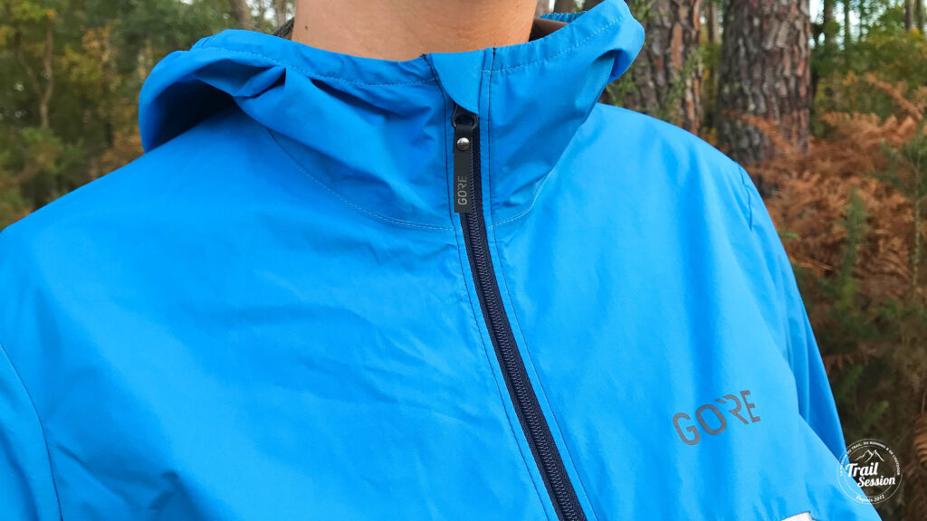 Veste Gore Wear R7 Partial - col haut
