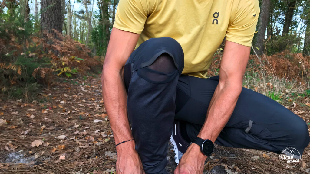 On running Pants - Ouverture aux genoux