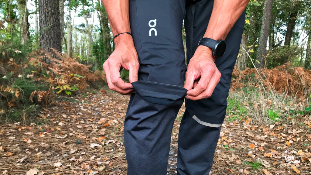 On running Pants - coutures plates