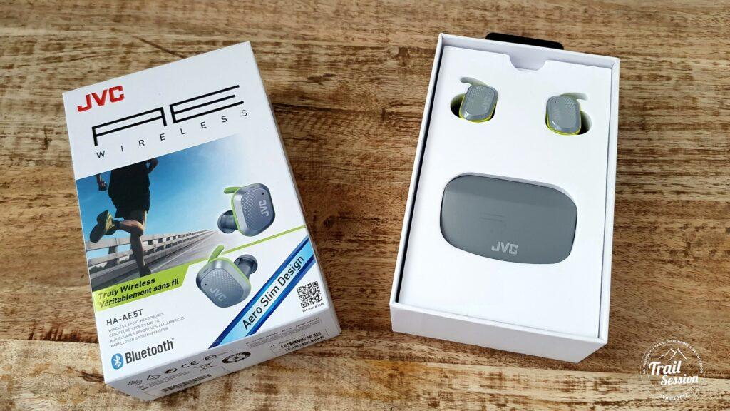 Écouteurs HA-AE5T : boîte