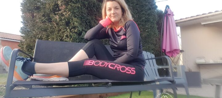 Bodycross Lena et Paula : une tenue running femme conçue en France