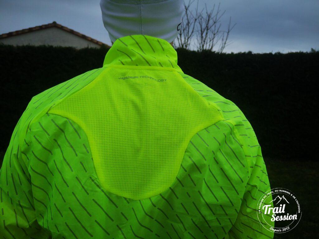 veste coupe-vent réfléchissante MIZUNO